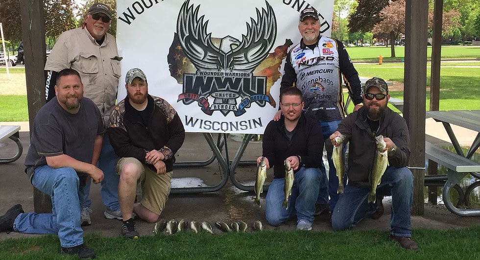 Wounded Warriors United Fishing Event