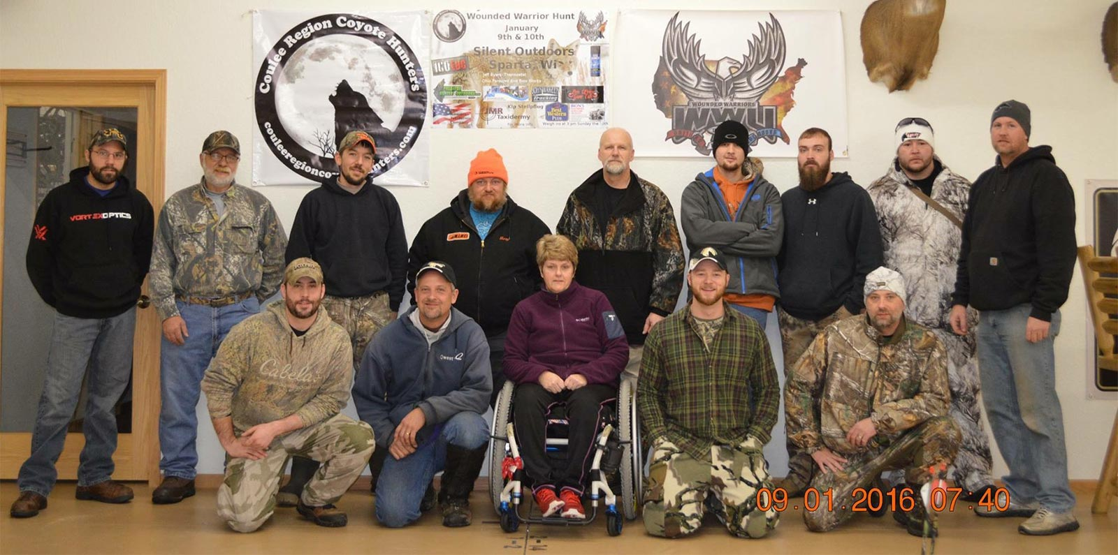 Veteran Hunting Trip in Wisconsin