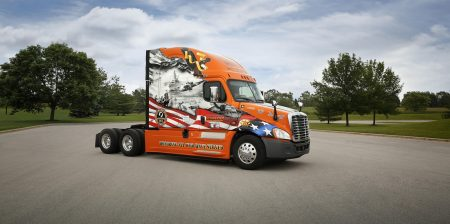 Wounded Warriors United Schneider Truck
